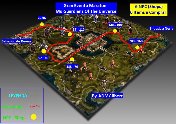 ::::::: GRAN EVENTO MARATON MU GUARDIANS OF THE UNIVERSE ::::::: 003_Maraton_Lorencia_Mu_Guardians