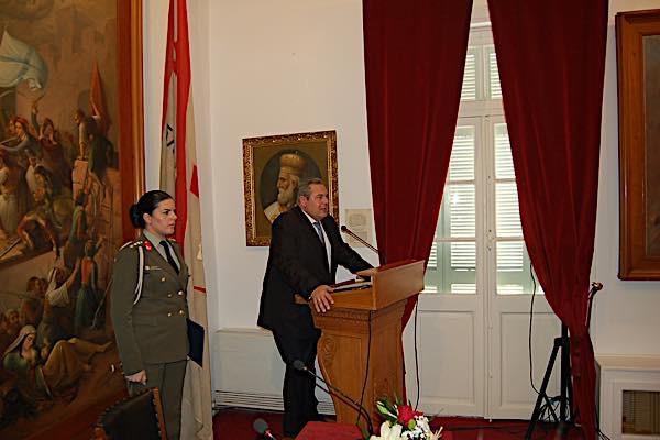 Επίσκεψη του Υπουργού Εθνικής Άμυνας Πάνου Καμένου στο Μεσολόγγι