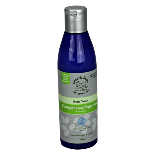 Cherubrubs Body Wash Eucalyptus & Peppermint 250ml