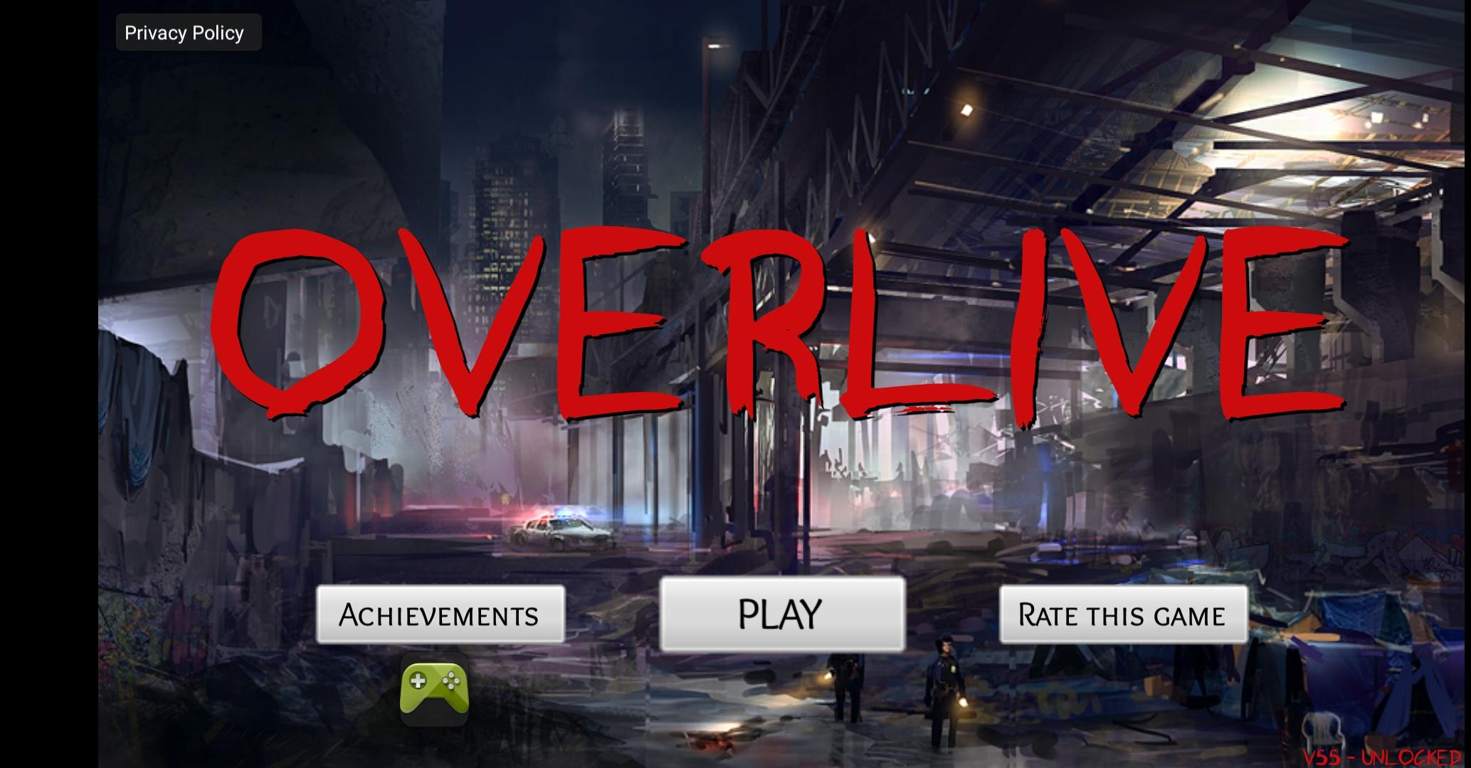 🎮 MOD APK - Overlive A Zombie Survival Story and RPG v55 Mod Apk