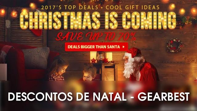 Descontos de Natal da GearBest
