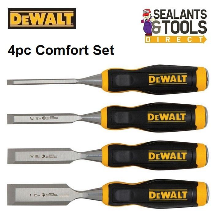 Dewalt Wood Chisel Set Comfort Grip DWHT16063
