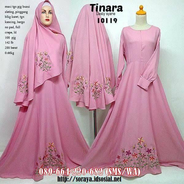 Jual Baju Wanita Muslimah Model Tinara Dasty Syarie