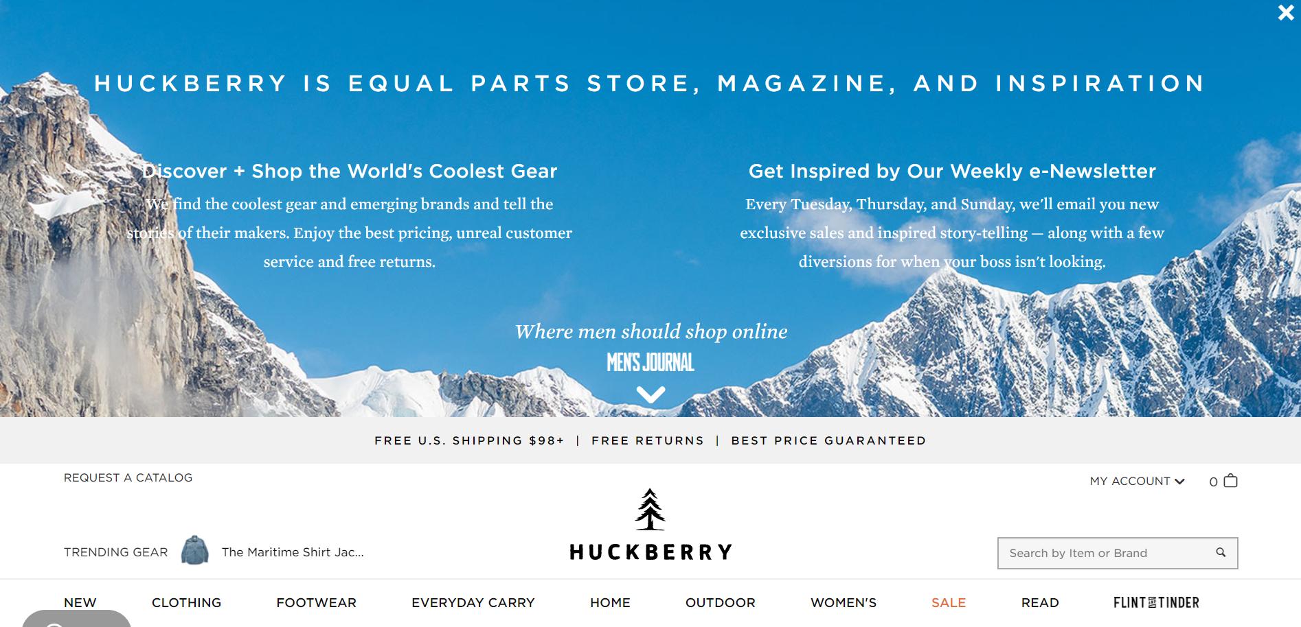 Huckberry Review