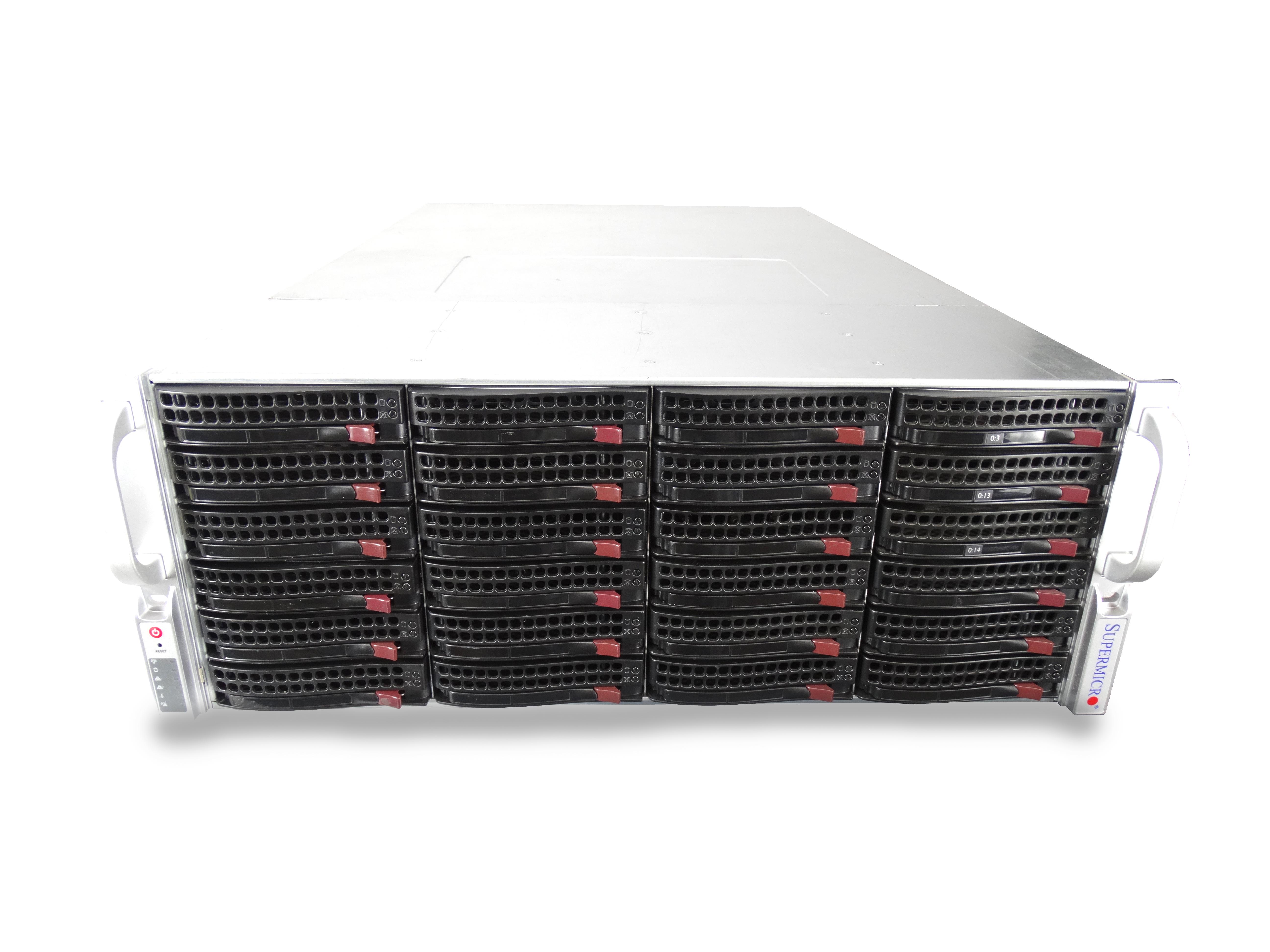 Supermicro SuperServer 6047R-E1R36N 36-Bay LFF 4U Rackmount Server
