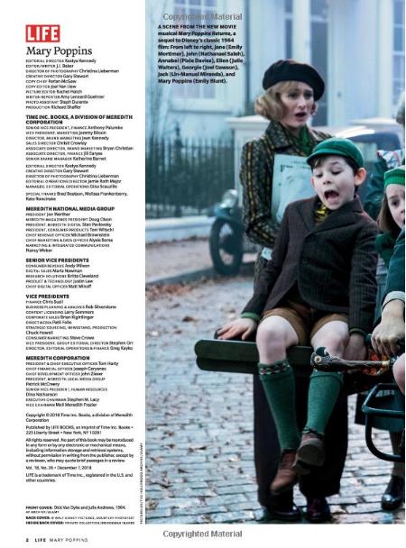 Les publications LIFE, TIME et Entertainment Weekly X14