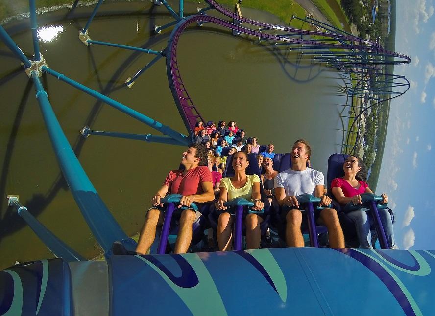 Mako rollercoaster SeaWorld