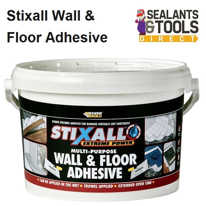 Stixall Wall & Floor Adhesive White 4kg STIXWFWE4