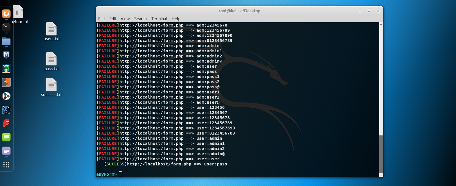 anyForm brute-forcing - Screenshot2