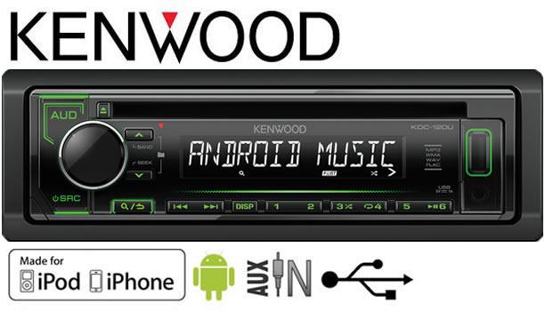 Fiat Bravo Car Stereo Radio  Kenwood Cd Mp3 Player With