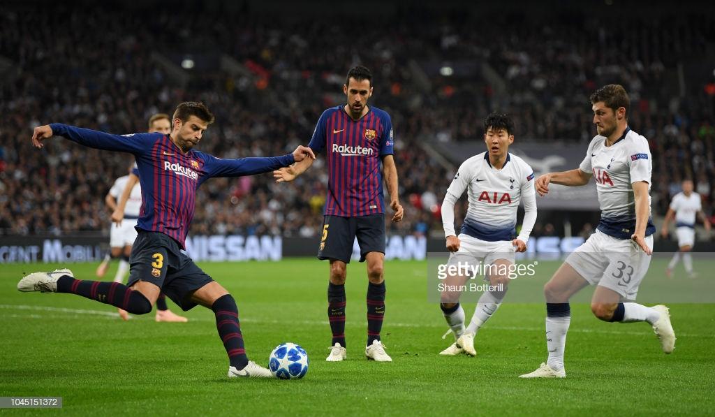 صور مباراة : توتنهام - برشلونة 2-4 ( 03-10-2018 )  T4