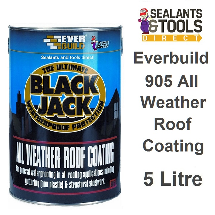 Everbuild 905 All Weather Roof Coating 5 Litre 90505