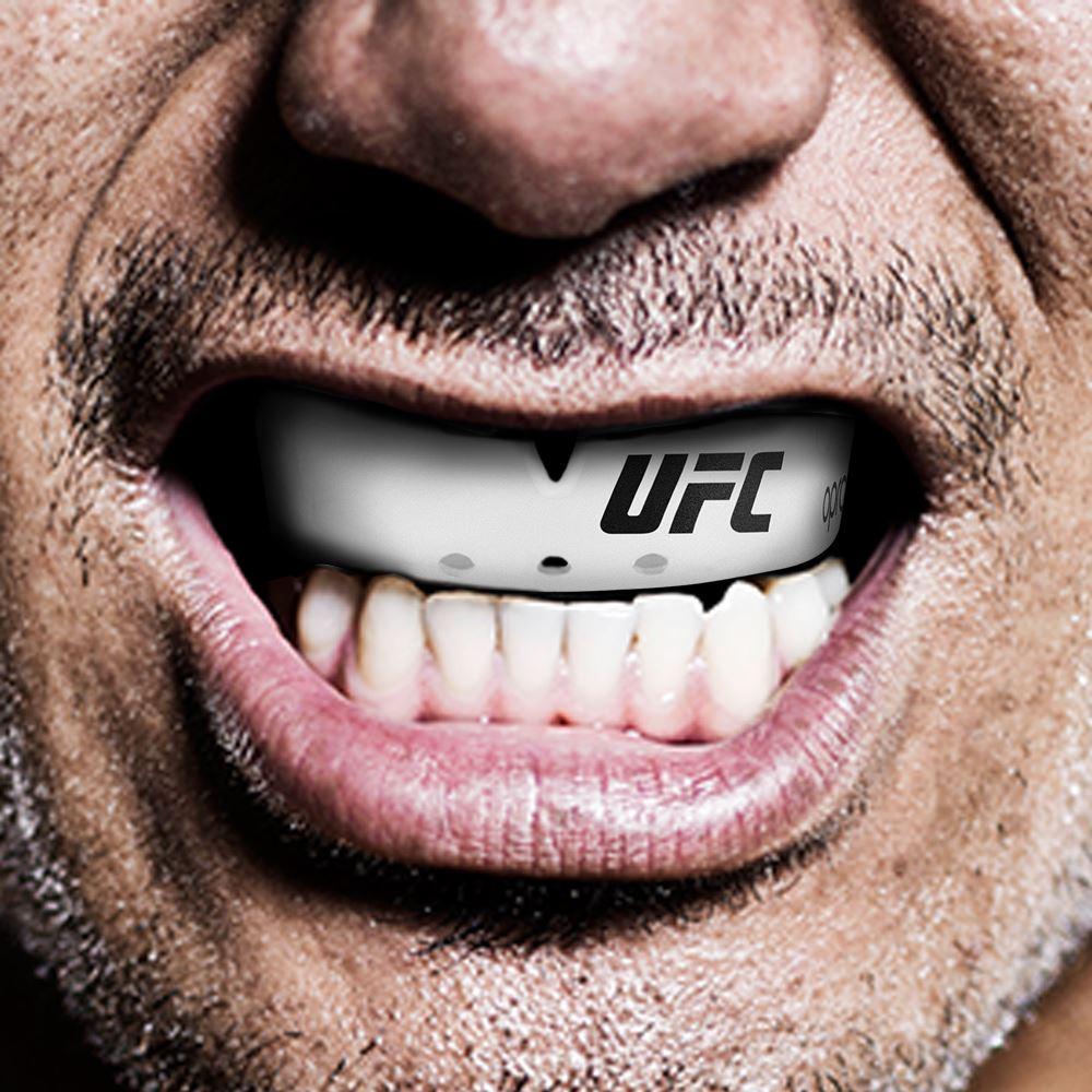 Капа Mouthguard - OPRO UFC - Bronze level - Белый ( Бренд США )