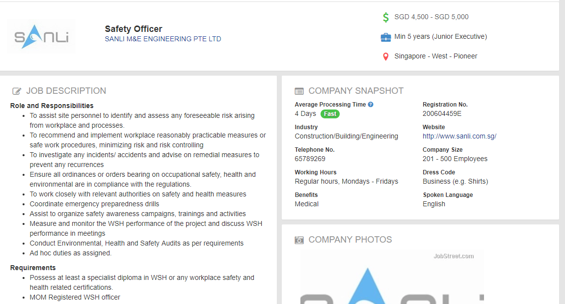 The only course worth taking in WSG is safety officer course? can easily earn 4-5k/mth right?
