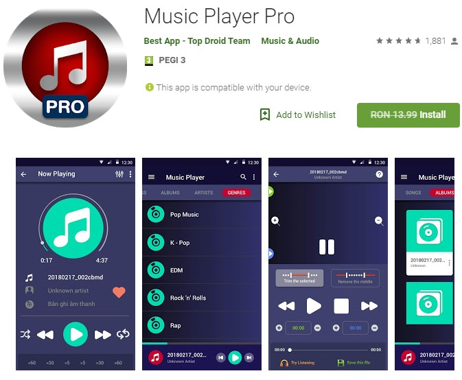 Music Player Pro - Gratis