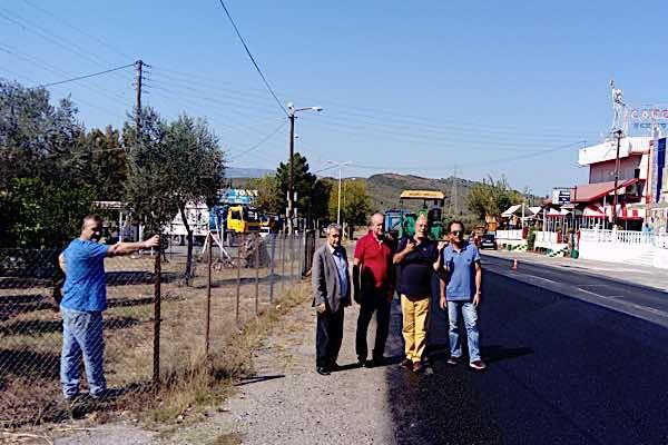 Αυτοψία έργων στην εθνική οδό Αντιρρίου – Ιωαννίνων