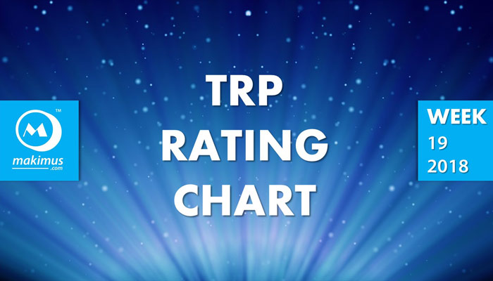 Latest TRP BARC Ratings of Week 19, 2018. These are the latest TRPChart of top Indian TV serials