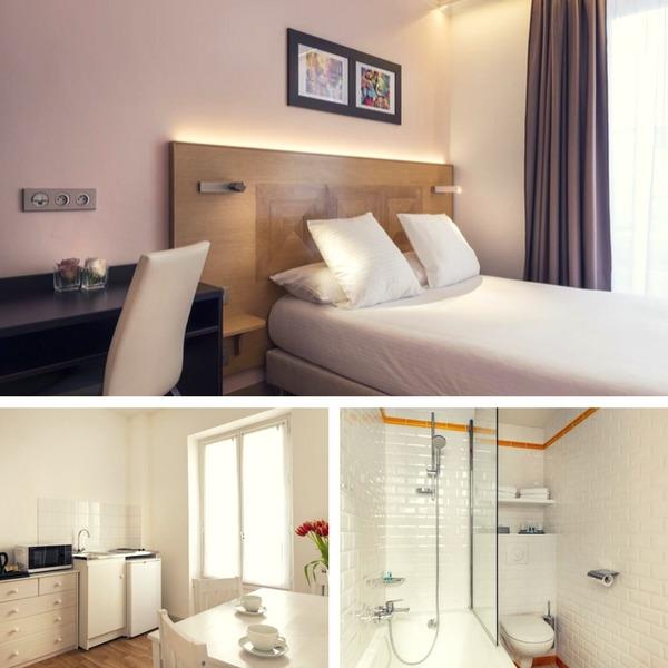 Mejores hoteles baratos en París - conpasaporte.com - Hôtel Eiffel XV