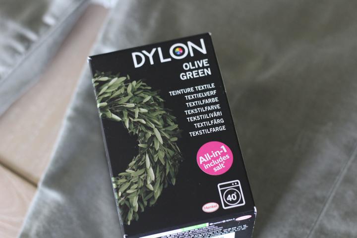 Dylon Textielverf Olive green