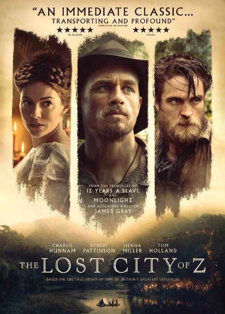 The Lost City of Z (2016) BluRay 1080p 5.1CH x264