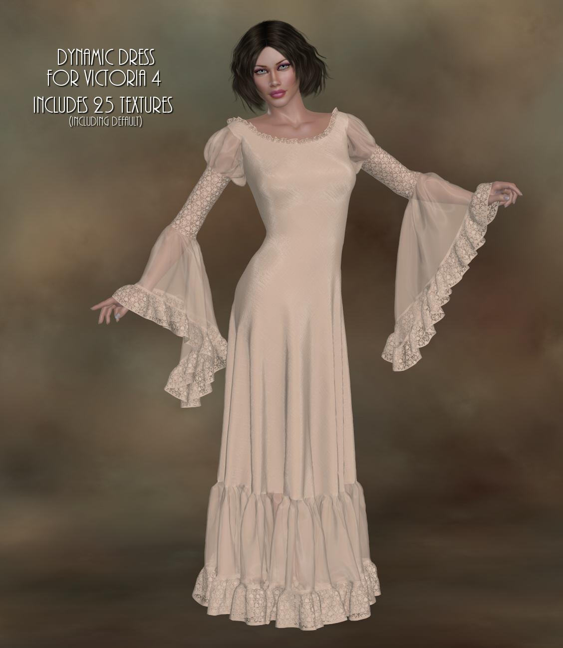 Dynamics-14-Flamenco Dress for V4
