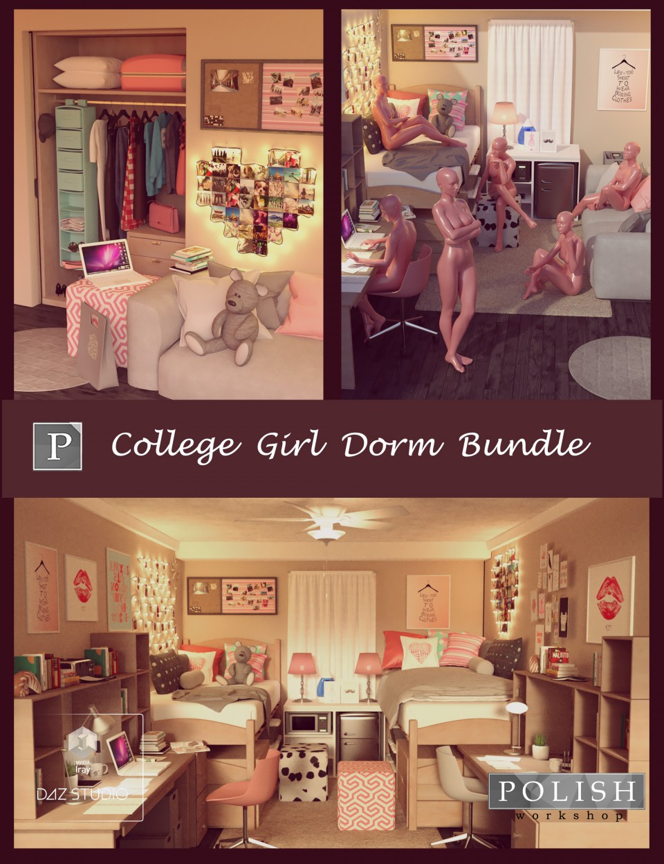 College Girl Dorm Bundle