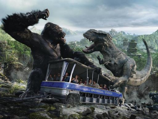 King Kong set at Universal Studios Hollywood