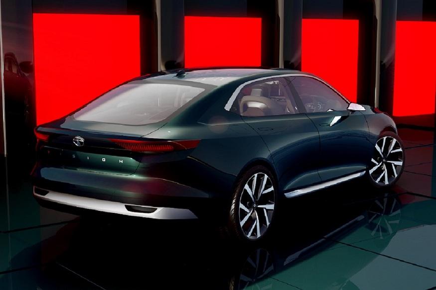 Tata E-vision exterior