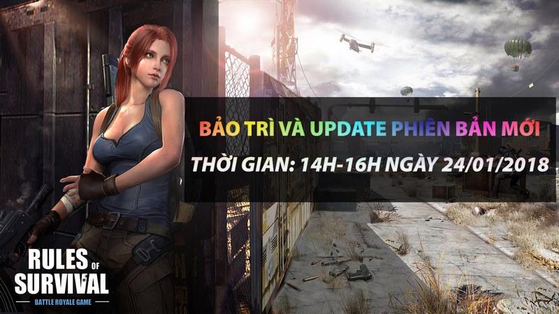 Sát cánh thi đấu cùng hot streamers Việt Nam mừng RoS update hôm nay