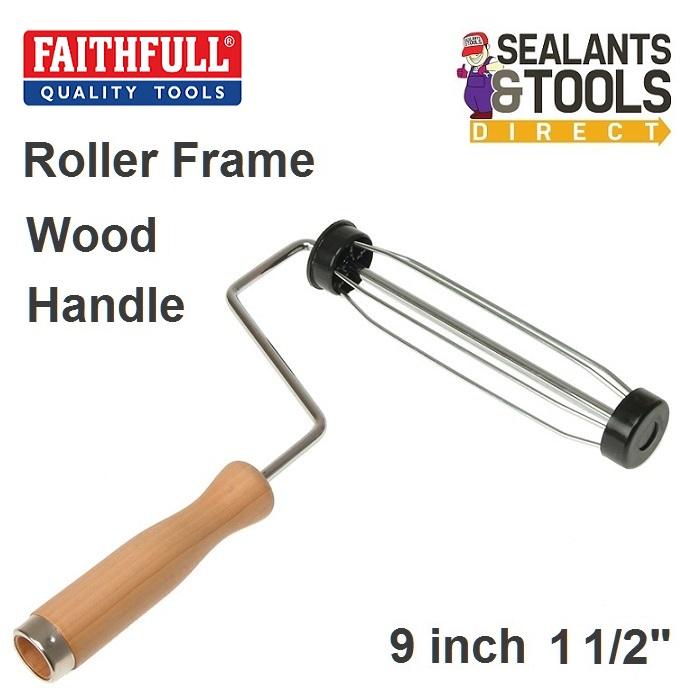 Faithfull Paint Roller Frame 9 inch x 1 1/2