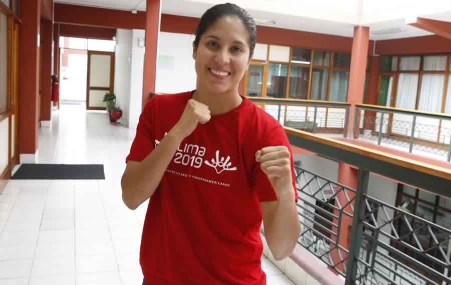 Alexandra Grande, la karateca soñadora que confía en triunfar en los Juegos Olímpicos
