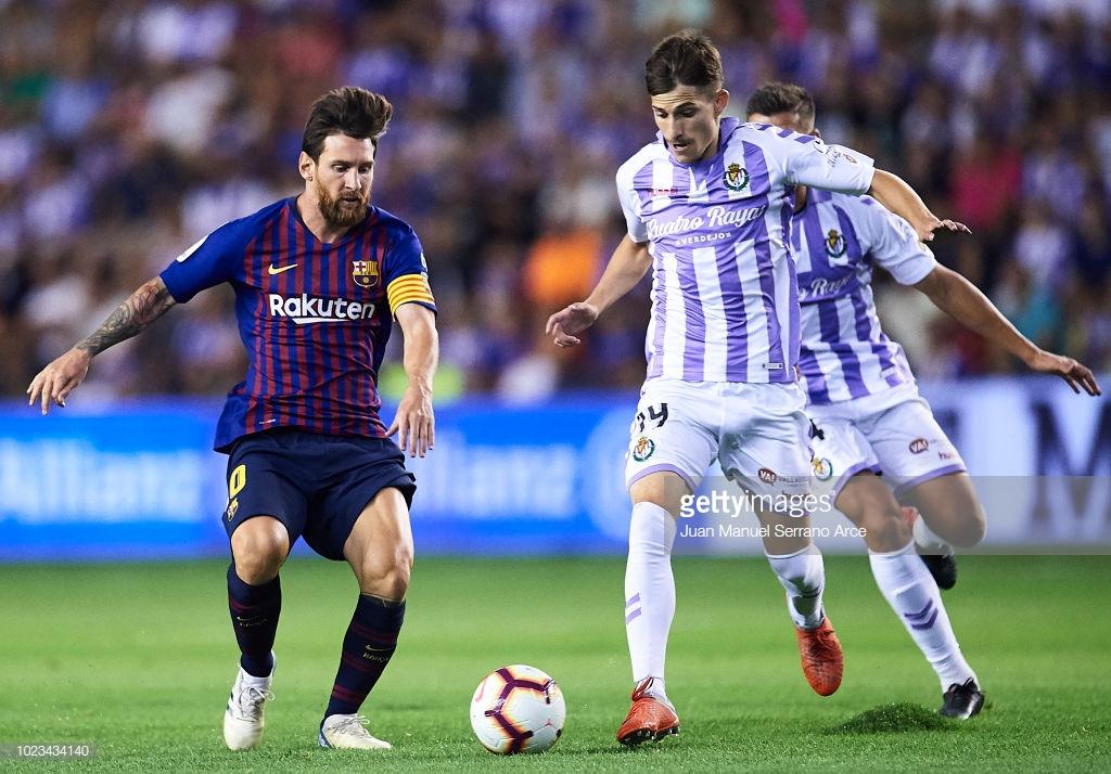 صور مباراة : بلد الوليد - برشلونة 0-1 ( 25-08-2018 )  L2