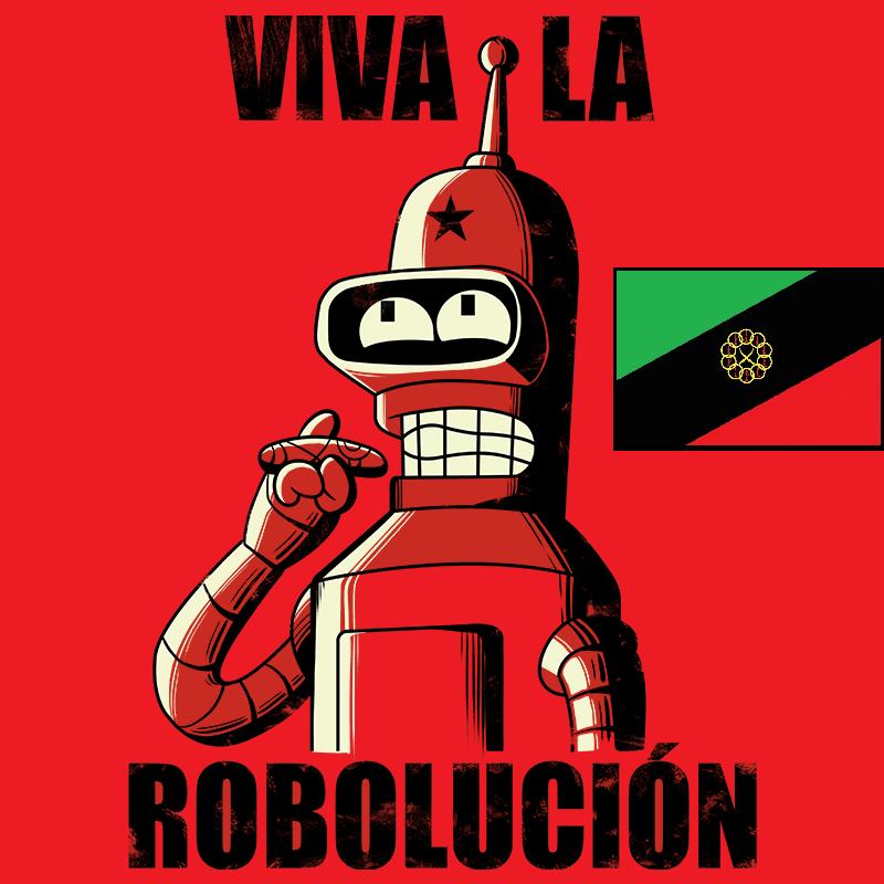 futurama_bender_tshirt_viva_la_robolucio