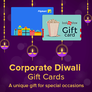 Corporate Diwali Gift Cards