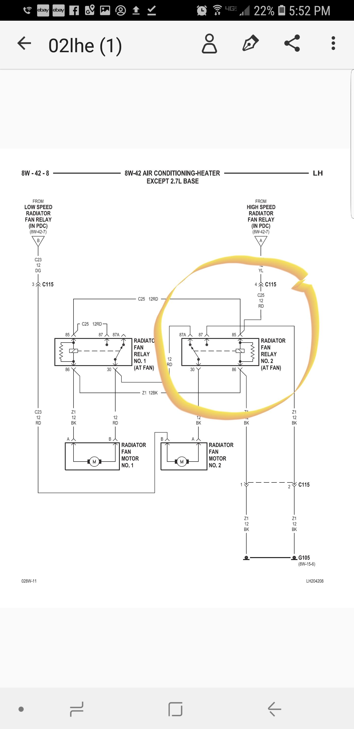 [FPER_4992]  Intrepid fans   S-10 Forum   Dodge Intrepid Wiring Diagram For Cooling Fans      S10 Forum