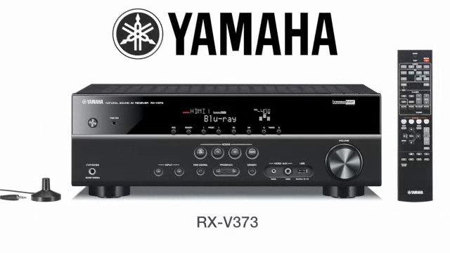 yamaha receiver rx v373 black slika 69160669
