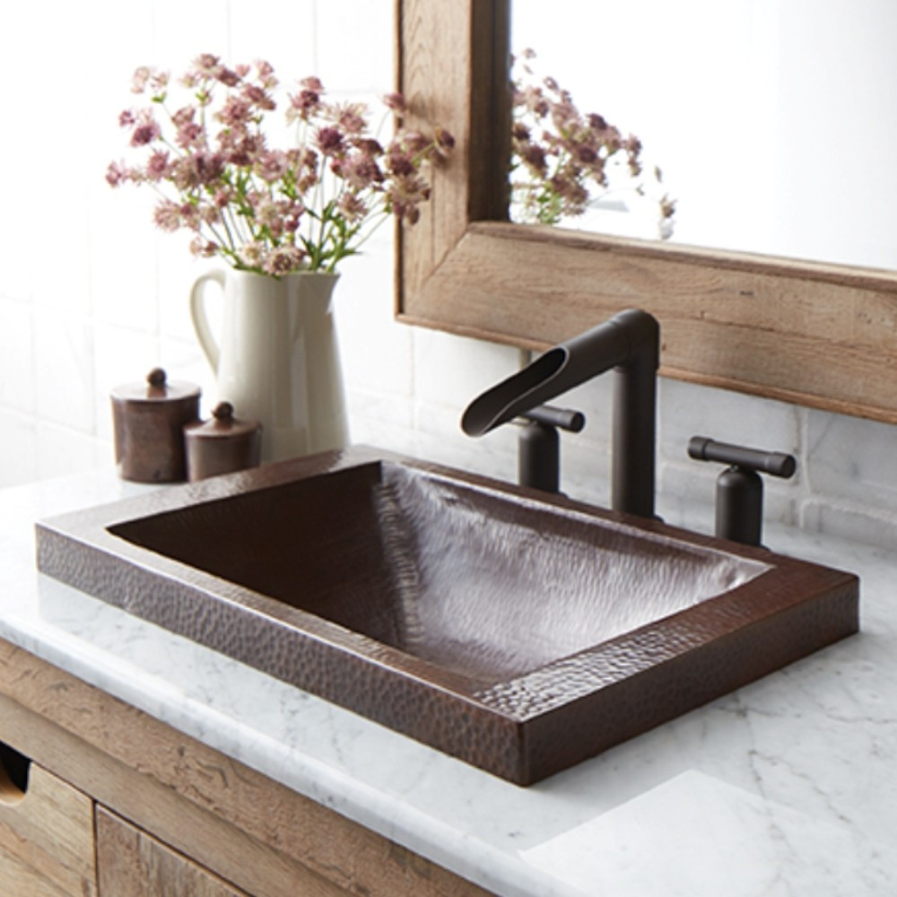 Bathroom Copper Sinks