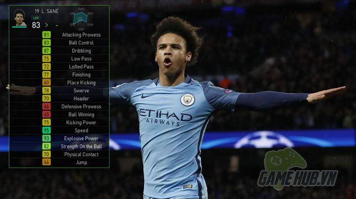 Đánh giá Top team PES18 (Phần 4) – Manchester City - ảnh 3