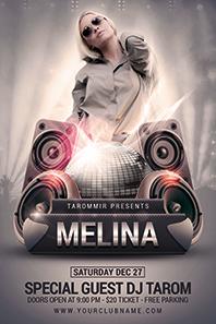 10_melina_guest_dj_flyer