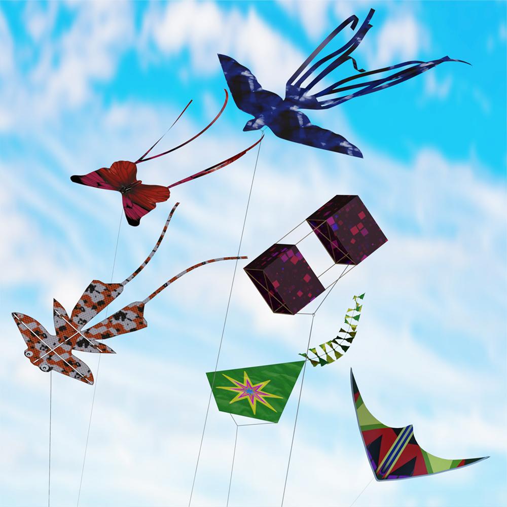 Prae-Kites for G3 G8 (Daz)