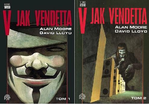 V jak Vendetta (1-2) [KOMIKS PL]