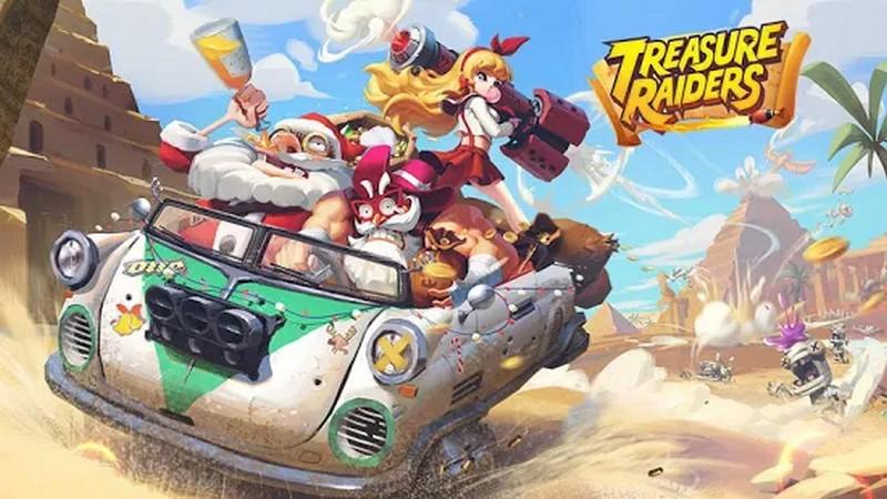 Treasure Raiders - Bắn súng lai MOBA chuẩn bị công phá Mobile