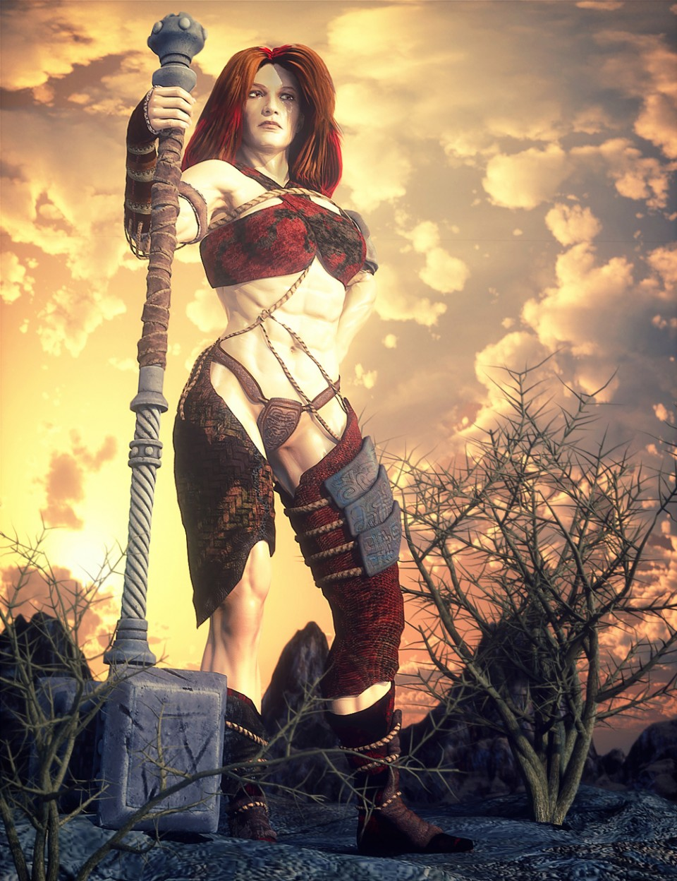 Barbaric for Genesis 3 Female