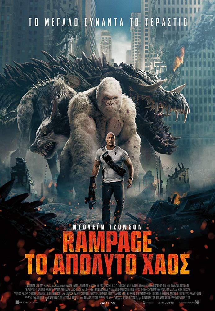 Rampage (2018) BluRay 1080p 5.1CH x264
