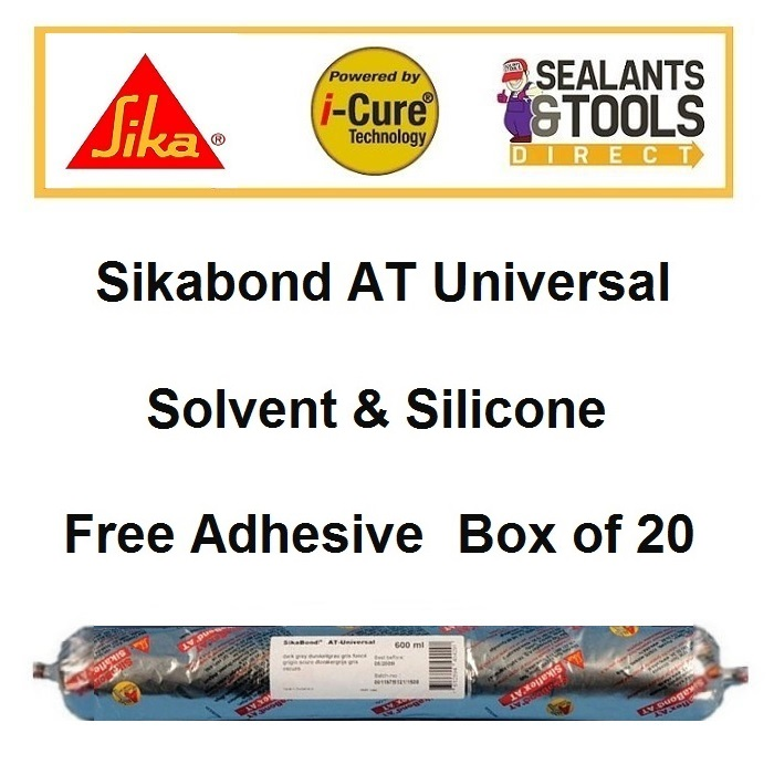 Sika SikaBond AT Universal Adhesive 600ml Box of 20
