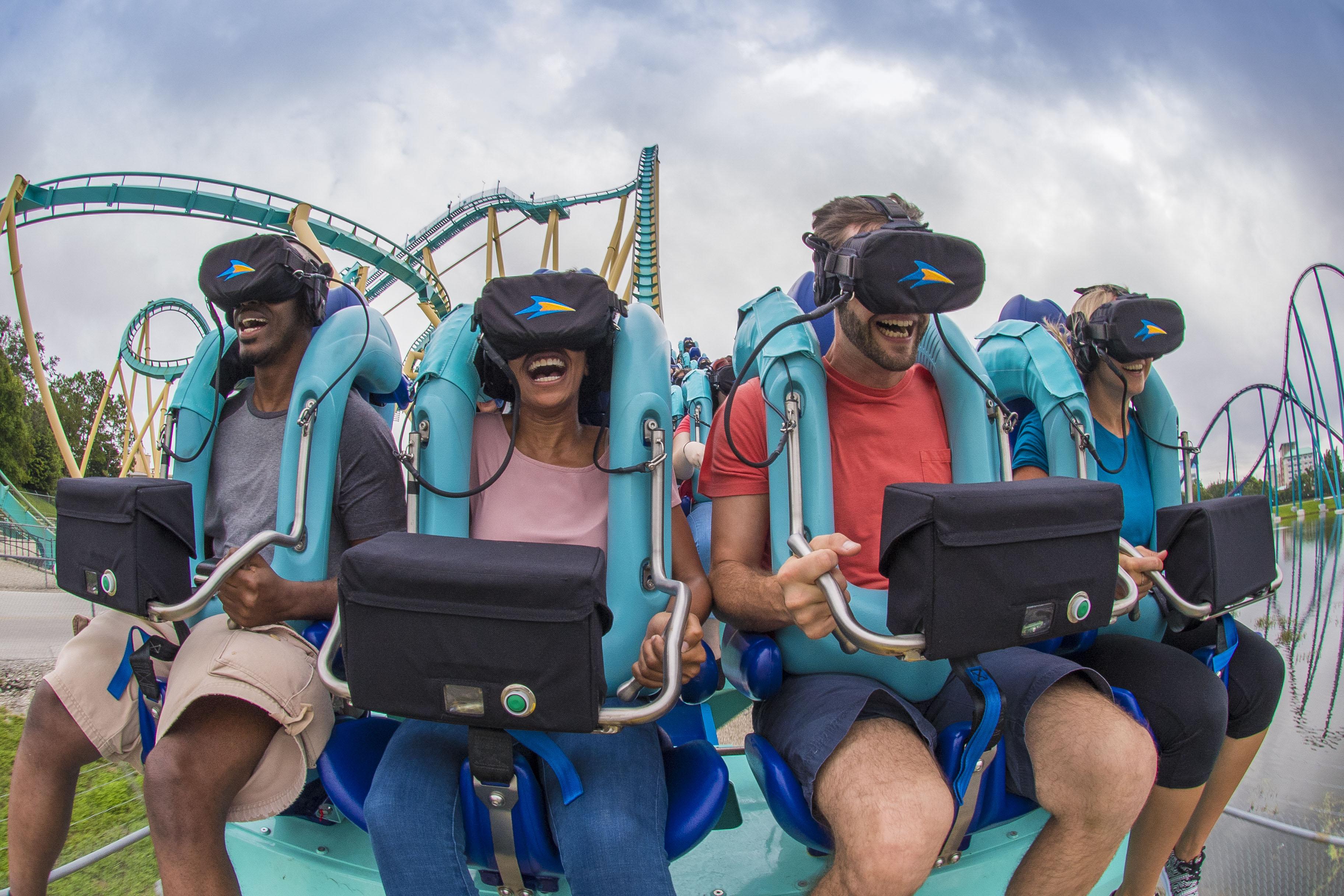 Kraken SeaWorld Virtual Reality