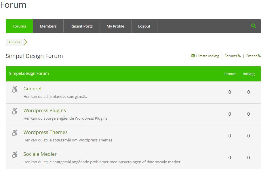 My forum