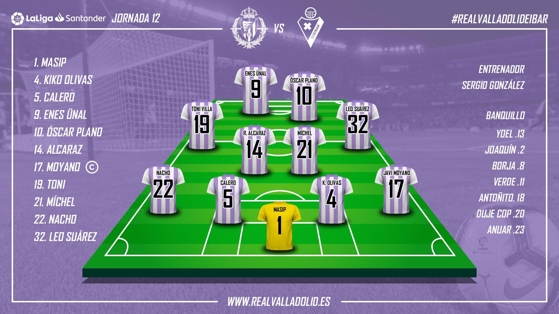 Real Valladolid - S.D. Eibar. Sábado 10 de Noviembre. 13:00 IMG-20181110-114241