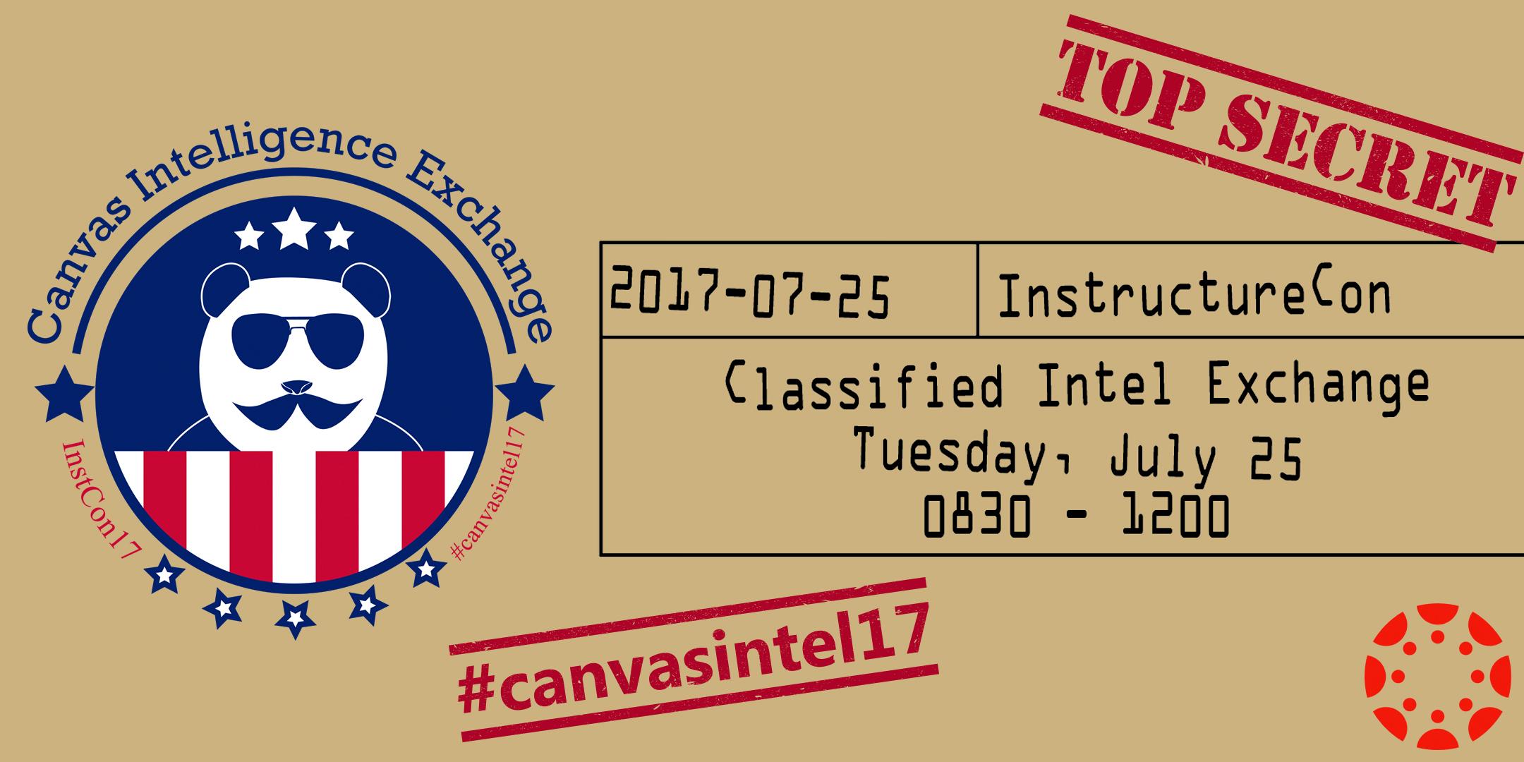 Canvas Intelligence Exchange header