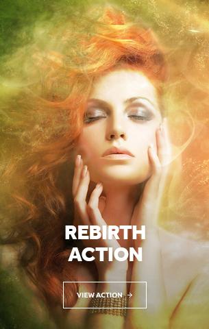 Rebirth Photoshop Action